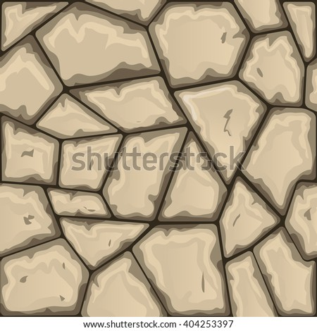 stone seamless pattern - stock vector