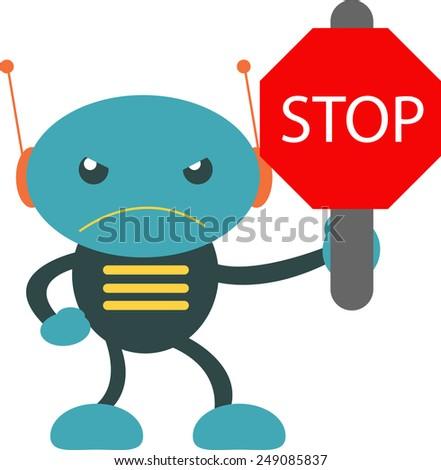 STOP!!! - stock vector