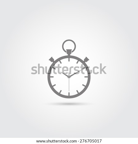 Stopwatch icon - Vector - stock vector