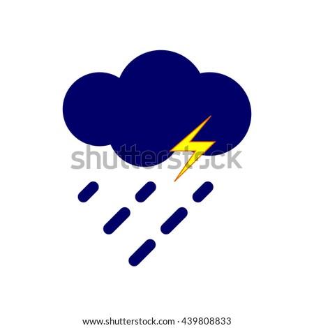 Storm, Storm Icon, Storm Icon Vector, Storm Icon Object, Storm Icon Image, Storm Icon Picture, Storm Icon Graphic, Storm Icon Art, Storm Icon Drawing, Storm Icon JPG, Storm Icon Logo, Storm Icon EPS. - stock vector