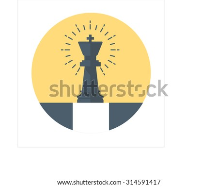 Strategic planning theme, flat style, colorful, vector icon for info graphics, websites, mobile and print media. - stock vector