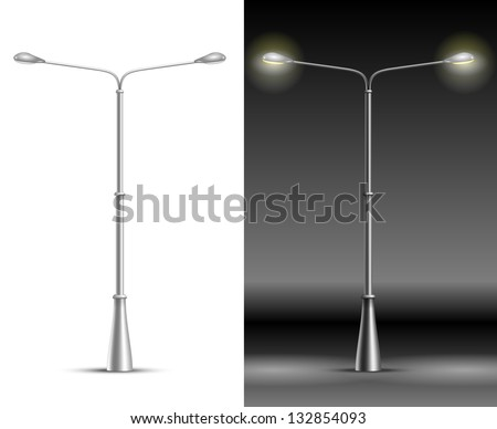 Street Lamp Background Street Lamp Lanterns Isolated