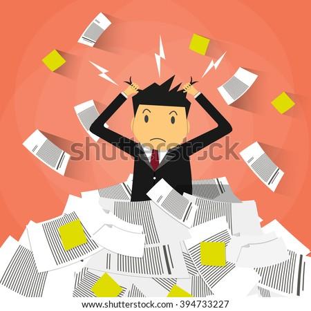 Illustration essay on stress