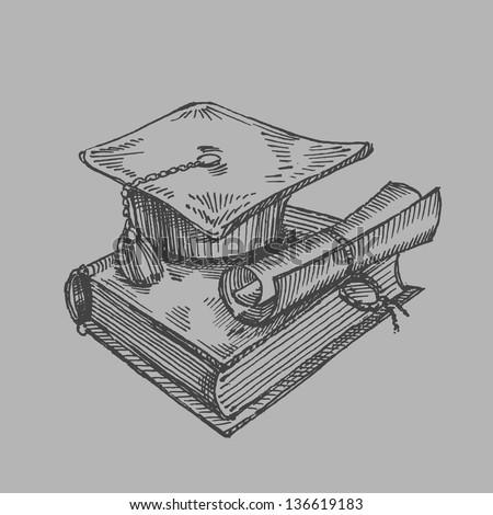 student - stock vector