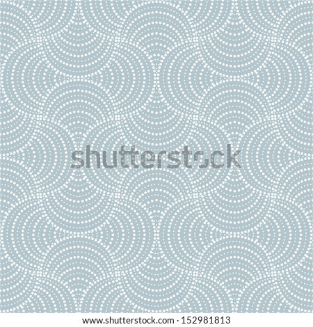 Stylish abstract geometric pattern . A seamless vector background. - stock vector