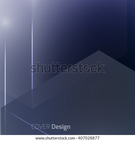 Stylish colorful background with soft gradients, lines, and glowing elements. Background texture with blurred and geometrical shapes. Abstract background for apps, presentations or corporate use. - stock vector