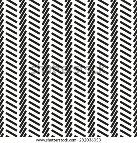 Stylish geometric texture with repeated polygons. Monochrome. Vector illustration. Seamless pattern.  - stock vector