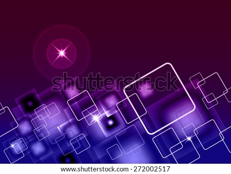 Stylish Modern Business Card Background with copyspace for your own text - stock vector