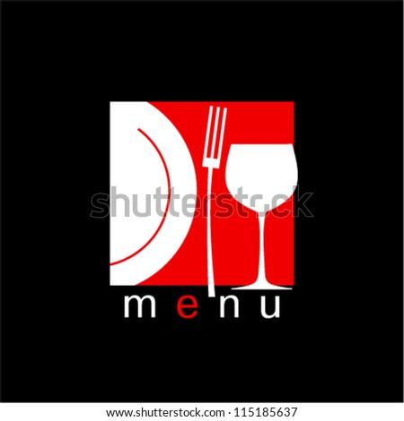 Stylish Restaurant Menu Card Design template. - stock vector