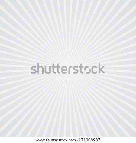 Stylish starburst background with soft tones - stock vector