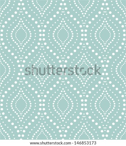Stylish texture with a repeating pattern. A seamless vector background. - stock vector