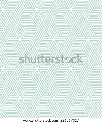 Stylish texture with a repeating pattern. A seamless vector background. Blue and white texture. - stock vector