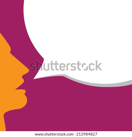 stylish young man's face announcing offer, sale - concept vector. This graphic also represents people marketing products, talking loud, commercial advertisement - stock vector