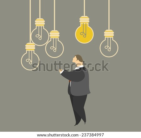 stylized characters in a situation of business concepts ideas planning discussion - stock vector