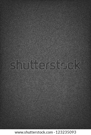 Subtle pattern seamless texture grainy noise effect on dark gray wallpaper background. Vector illustration clip-art web internet design element saved in 10 eps. Template a4 paper vertical format - stock vector