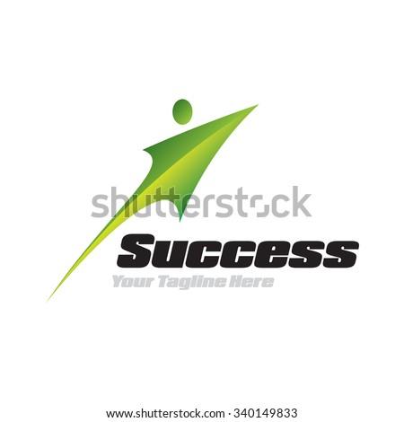 Success Icon Logotype Elements - stock vector
