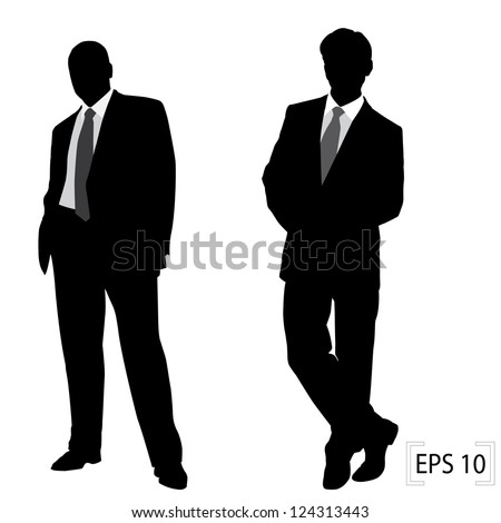 successful businessman - stock vector
