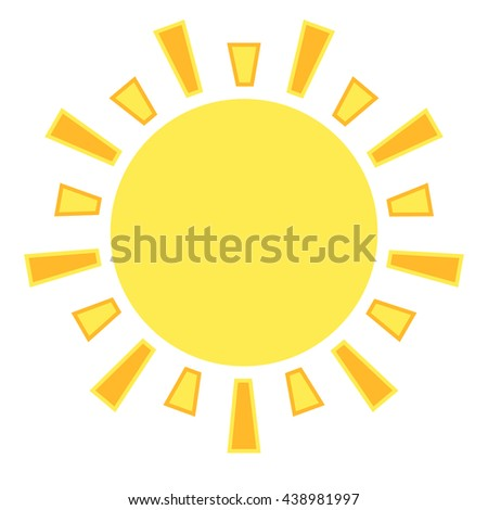 Sun rise and shine vector - stock vector