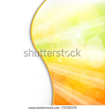 Sun Sun Background And Rays, Vector Illustration - stock vector