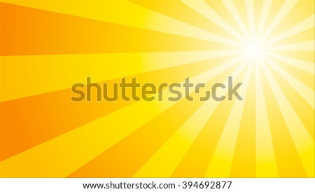 Sun sunburst pattern. Vector illustration - stock vector