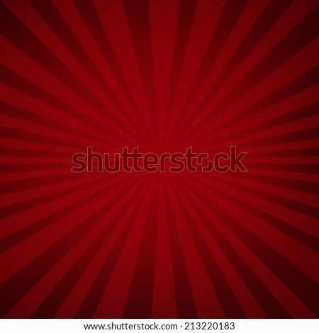 Sunburst Grunge Background, With Gradient Mesh, Vector Illustration - stock vector