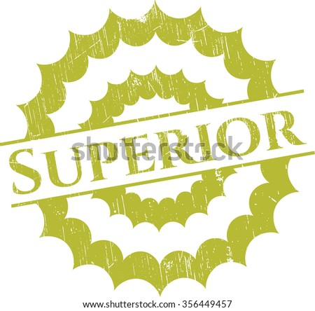 Superior rubber seal - stock vector