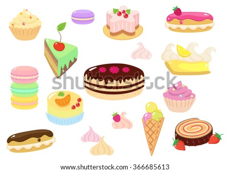 Sweet Confection - stock vector