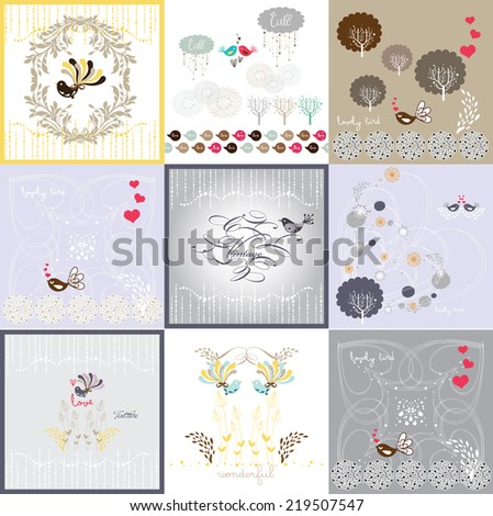 sweet season design  - stock vector