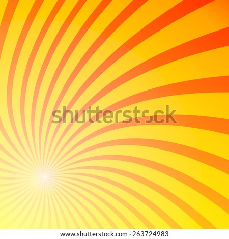 Swirl beam abstract background. Vector illustration.  - stock vector