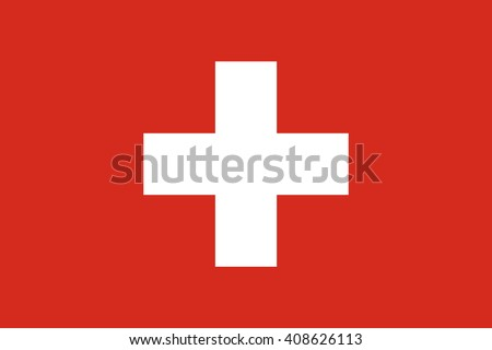 Switzerland flag, official colors. National Switzerland flag. Switzerland flag vector. Switzerland flag Image. Switzerland flag drawing. Switzerland flag JPG. Switzerland flag EPS. - stock vector