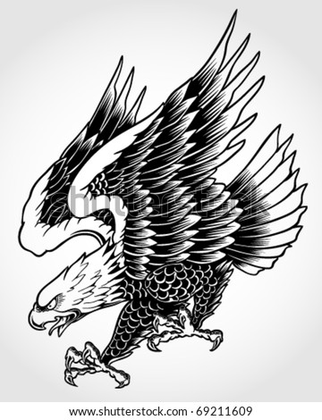 Swooping eagle tattoo designs 2014