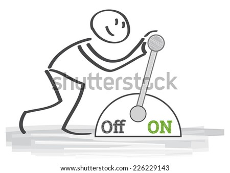 symbol for a new beginning - stock vector
