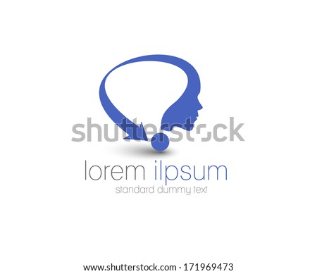 Symbol of Consultancy, isolated vector design - stock vector