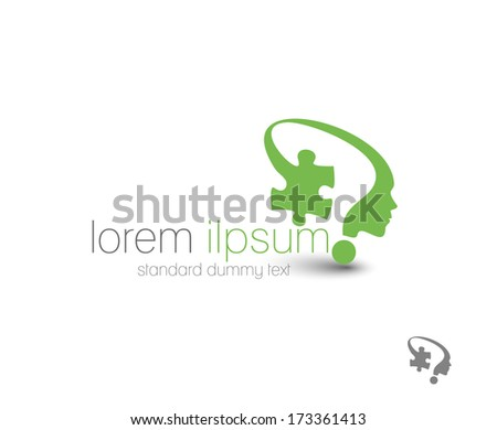 Symbol of Solution, isolated vector design  - stock vector