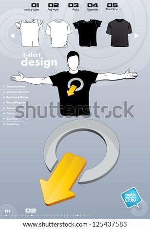 T-shirt design. Vector illustration. - stock vector