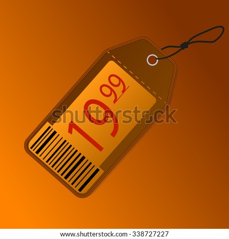 tag label - stock vector