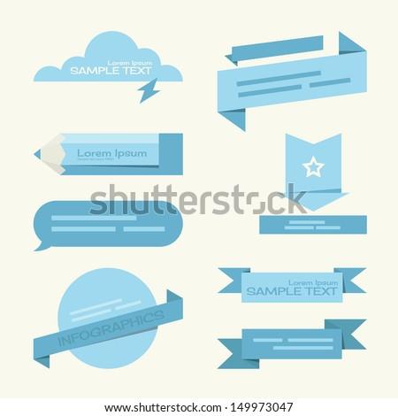 tag - label minimal designs, vector - stock vector