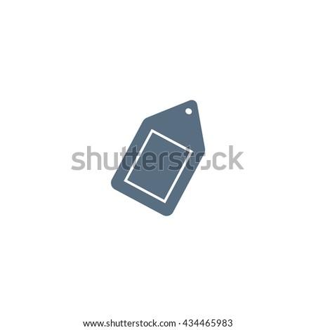 tag, label, price tag, icon - stock vector