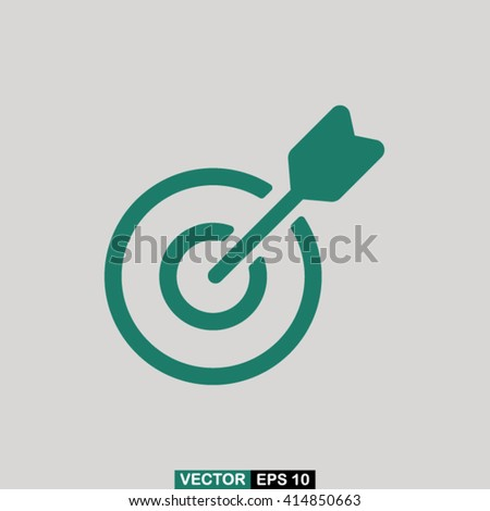 Target icon vector, target icon eps10, target icon picture, target icon flat, target icon, target web icon, target icon art, target icon drawing, target icon, target icon jpg, target icon object - stock vector