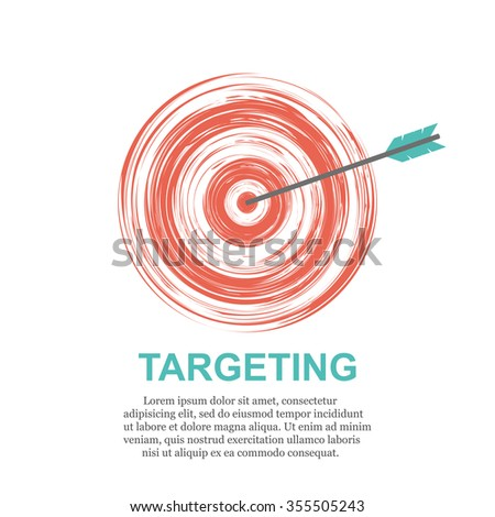Targeting Business concept - stock vector