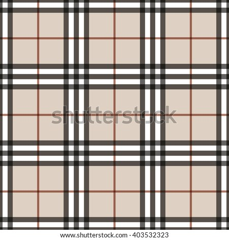 Tartan seamless pattern. Checkered geometric texture plaid. Fashion traditional scottish design. Classic british template wallpaper, wrapping, fabric or textile, material, flannel. Vector Illustration - stock vector