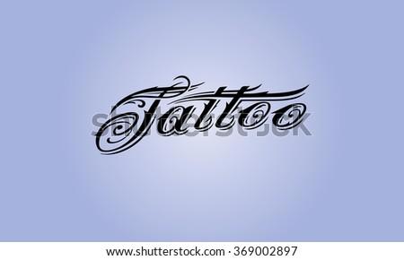 tattoo - stock vector