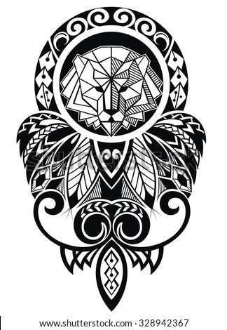 Polynesian Tattoo Stock Photos Images Amp Pictures