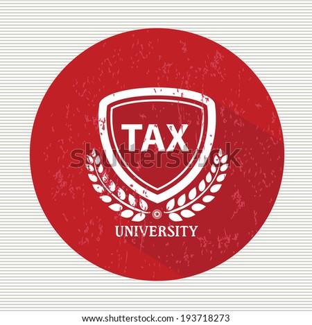 Tax symbol,vector - stock vector
