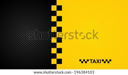 taxi - stock vector