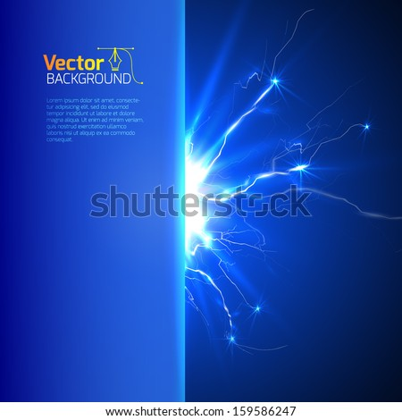Technological and scientific processes - a template to describe the process - stock vector