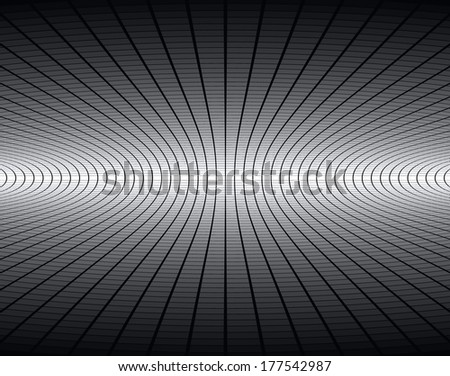 Technology and business concept abstract perspective background. (NO TRANSPARENCY and NO GRADIENT) - stock vector