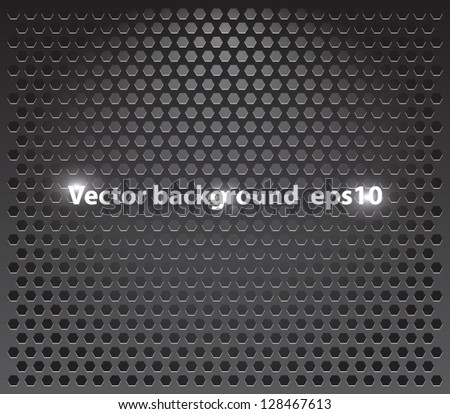 Technology background, metallic pattern. techno, silver, metal, glass, chrome. Clean and modern style design - stock vector