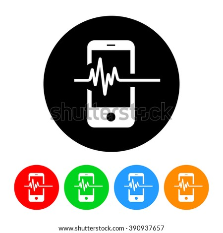 Technology Trends Icon - stock vector