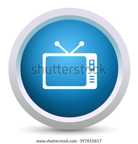 televisions icon - stock vector